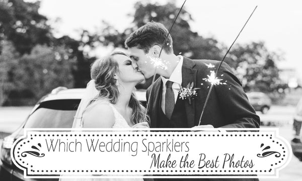 Which Wedding Sparklers Take the Best Photos
