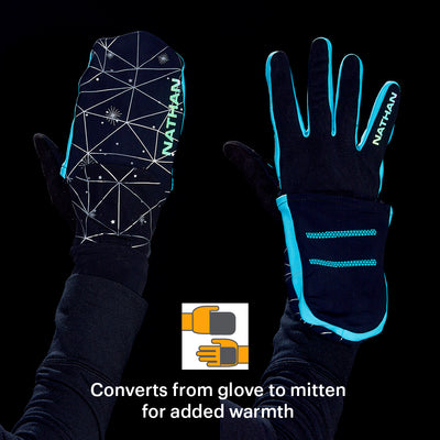 Women's Reflective Convertible Glove/Mitt