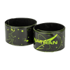 Nathan Yellow Reflective Slap Bracelet-Band - Arm Wrapped - Aliens and Galaxy