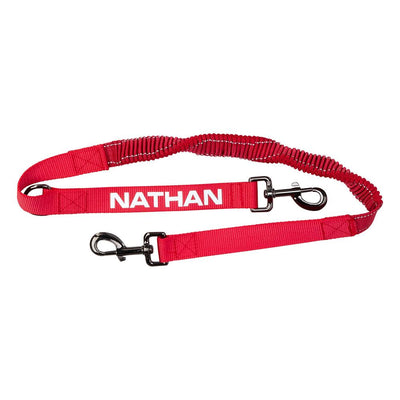 Nathan Red Dog Leash  - Front Hero View