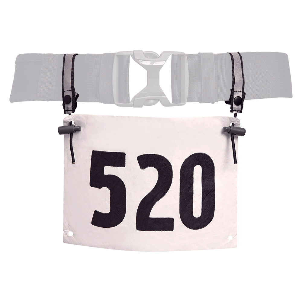 Race Number Attachment