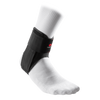 McDavid Stealth Cleat Ankle Brace - Side Angle Image on Ankle