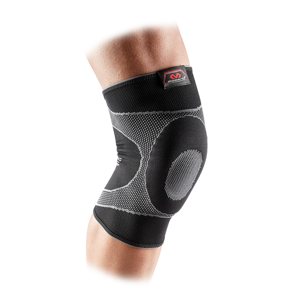Knee Sleeve/4-Way Elastic w/Gel Buttress