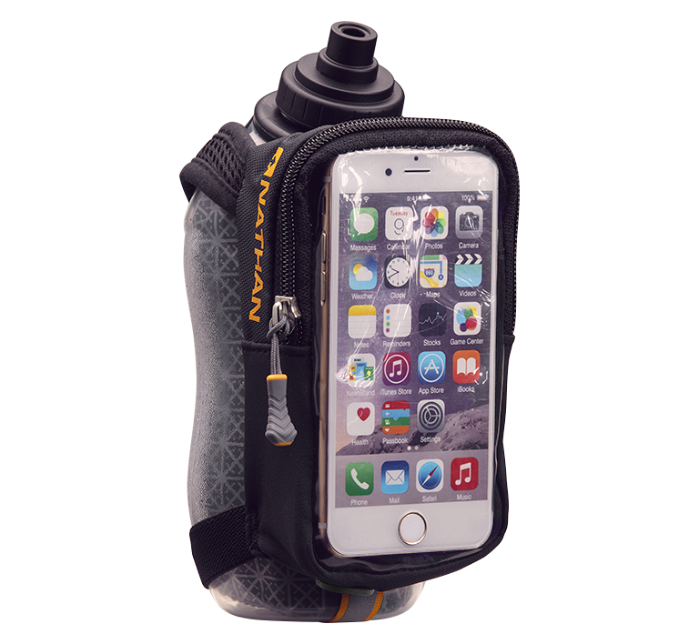 SpeedView Plus Insulated 18oz Flask with Phone Case