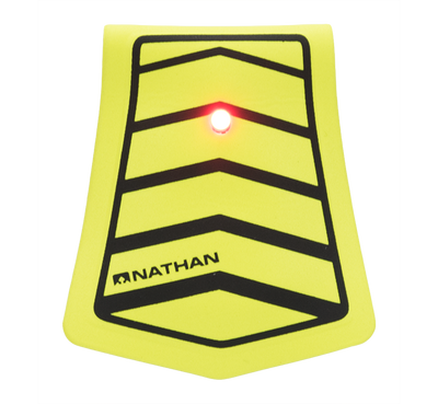 Nathan Mag Strobe LED Clip Light, Arrows - Reflective