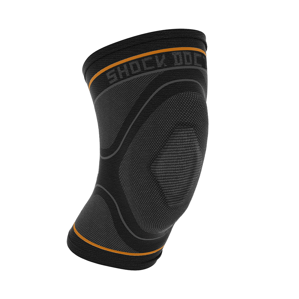 Compression Knit Knee Sleeve with Gel Support