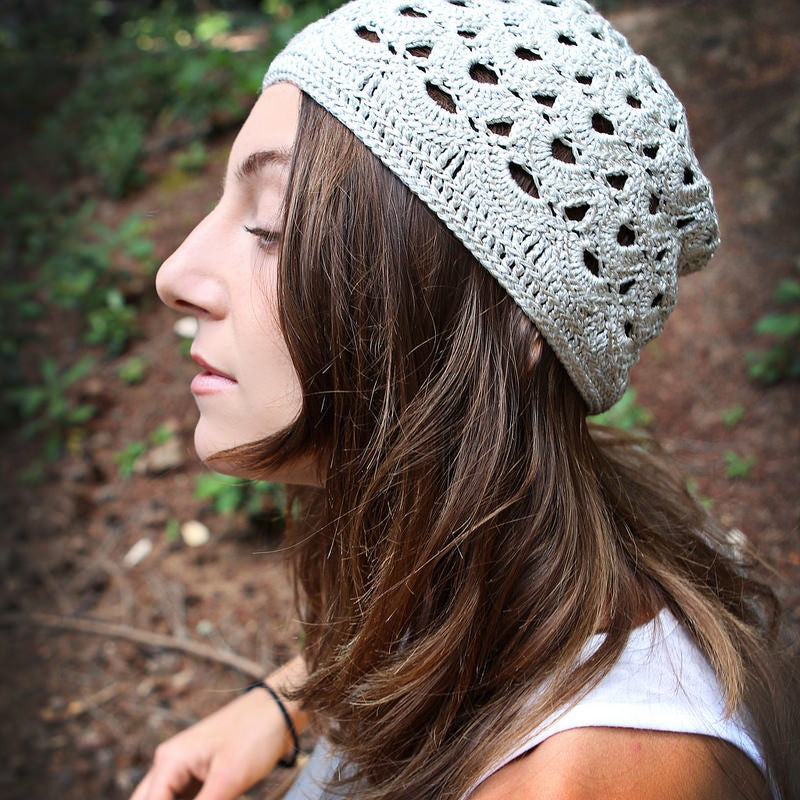 Baroque Toque - Hand Crocheted