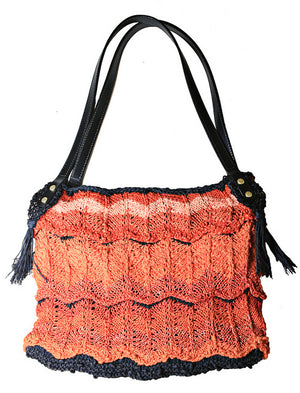 Flame Carpet Bag