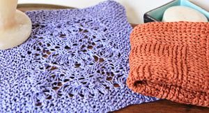 Porcupine Lace Washcloth