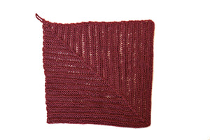 Exfoliating Mitered Square Washcloth