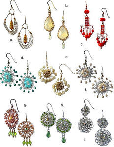 Wire Earring Collection