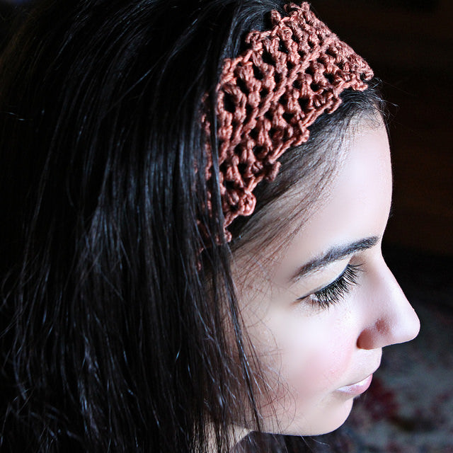 Handmade Headbands in Pure Silk