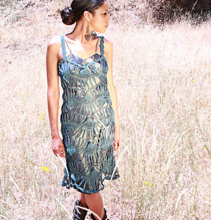Lotus Smock Dress and Camisole