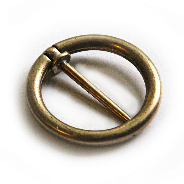 Tiny Annular Shawl Pin