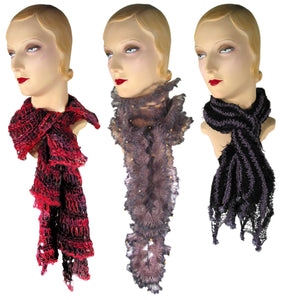 More Decidedly Different Scarves