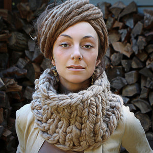 Superchunk Instant Knitted Cowl