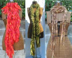 Ribbon Scarves Collection
