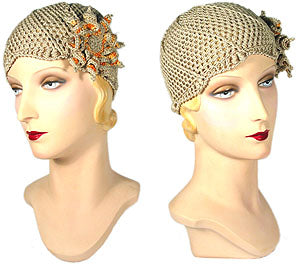 Gatsby Cloche - Hand Crocheted