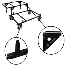 Load image into Gallery viewer, Streeter Triple Kart Stacker - Black