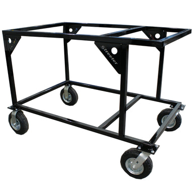 Streeter Double Kart Stacker - Black