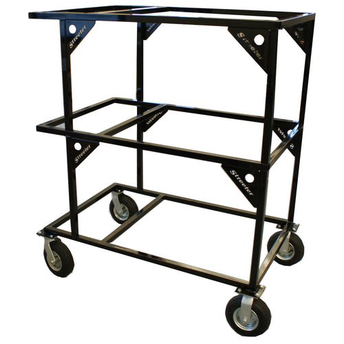 Streeter Triple Kart Stacker - Black