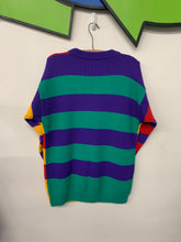 Load image into Gallery viewer, ESPRIT Color block sweatshirt size Large (women's)