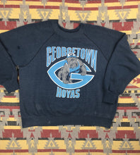 Load image into Gallery viewer, Vintage 80s Georgetown Hoyas college crew size S