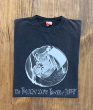 Load image into Gallery viewer, 90s The Twilight Zone Tower of Terror vintage shirt size XL