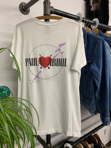 Paula Abdul 1990 tour shirt size Large best
