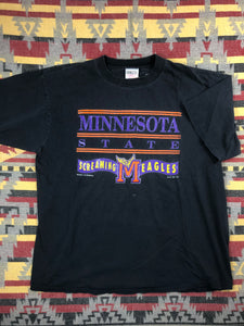 Vintage Minnesota state screaming eagles shirt size XL