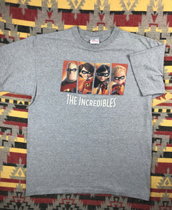 The Incredibles movie promo shirt size L
