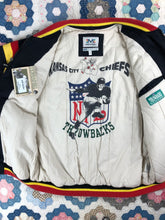 Load image into Gallery viewer, Vintage 90s NWT Kansas City Chiefs jacket size XL