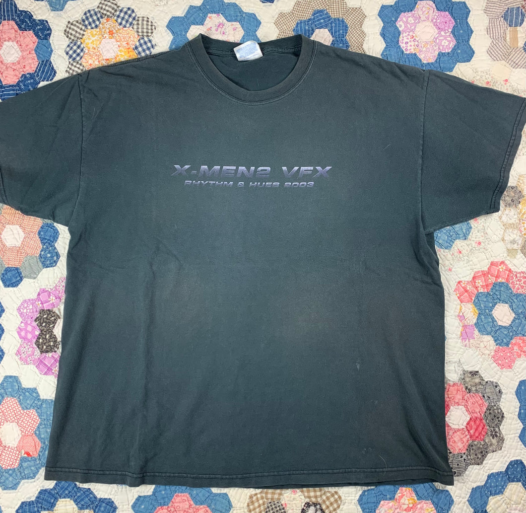 2003 X-Men 2 Movie Promo shirt size XL