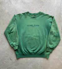 Load image into Gallery viewer, 90s Guess sweatshirt size Large (distressed)