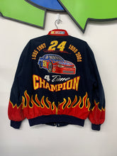 Load image into Gallery viewer, Jeff Gordon flames jacket size Medium