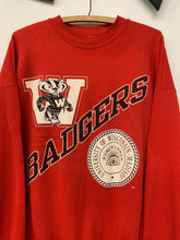 Load image into Gallery viewer, 90s Wisconsin Badgers sweatshirt size XL best