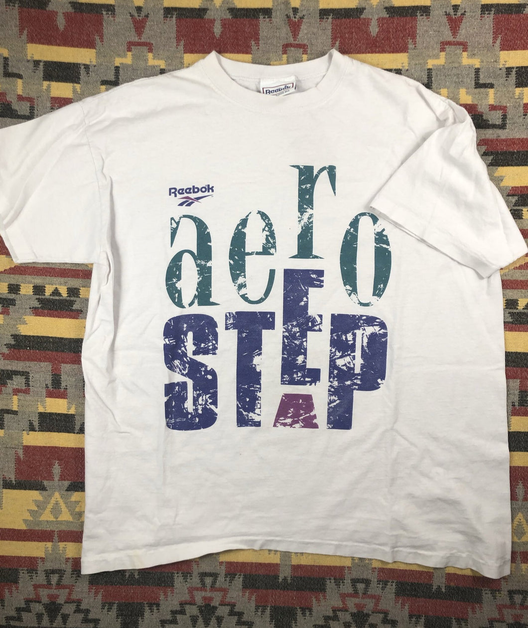 Vintage Aero Step by Reebok shirt size XL