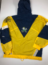 Load image into Gallery viewer, Vintage Norte Dame pullover windbreaker jacket size XL