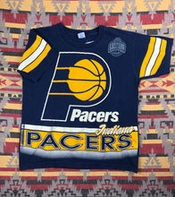 Load image into Gallery viewer, Vintage 90s Indiana Pacers all over print shirt size L