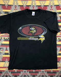 Vintage Minnesota Vikings shirt size XL