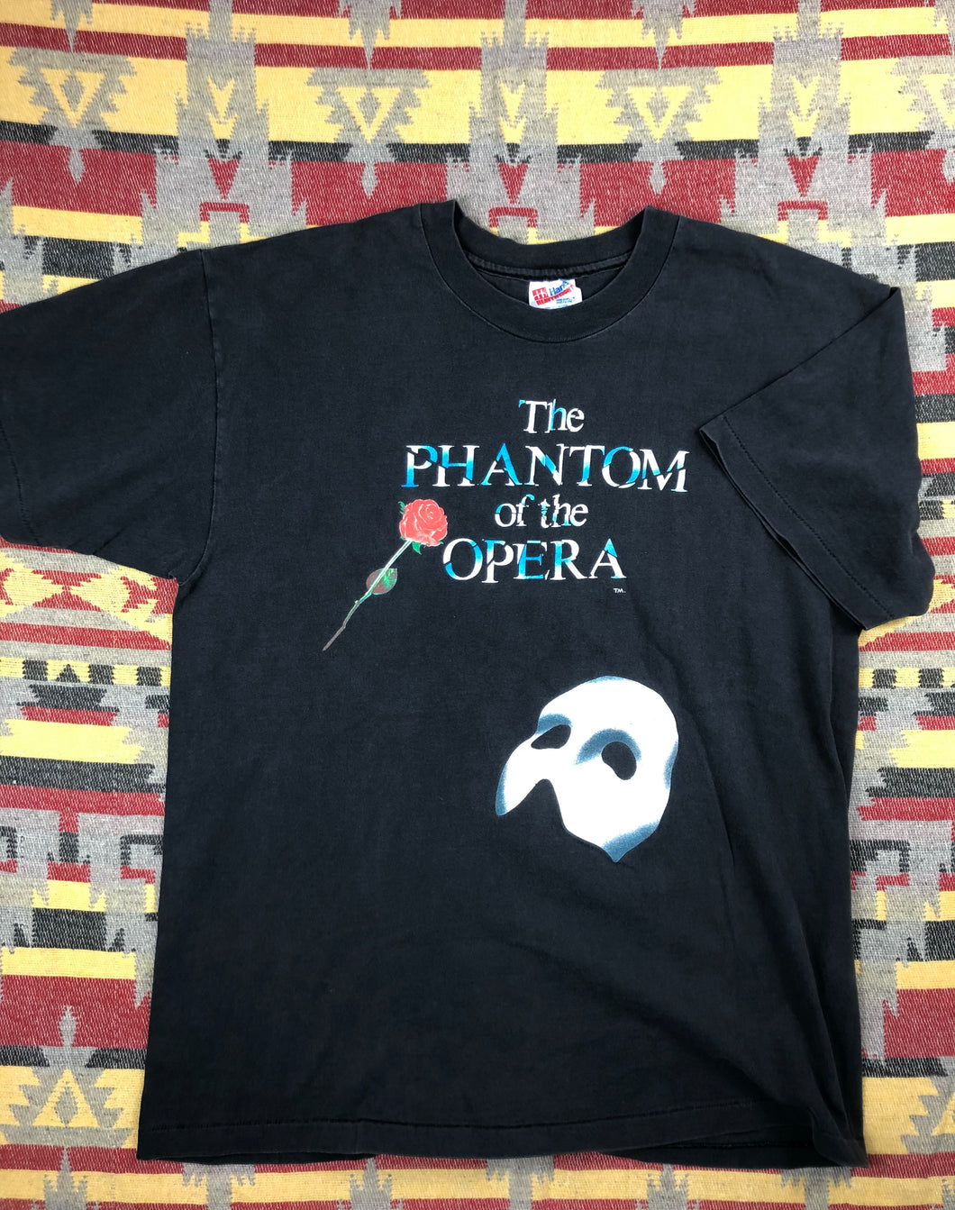 Vintage 90s The Phantom of the Opera shirt size L