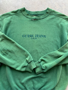90s Guess sweatshirt size Large (distressed)