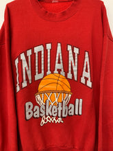 Load image into Gallery viewer, 90s Indiana University Basketball crewneck size XL