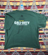 Load image into Gallery viewer, Call of Duty Word at War promo shirt size L