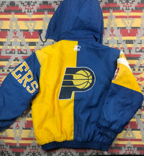 Load image into Gallery viewer, Vintage Starter Indiana Pacers zip up jacket size L