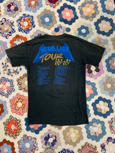 Load image into Gallery viewer, 1988/1989 Metallica your shirt size Medium