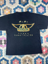 Load image into Gallery viewer, Vintage 1997 Aerosmith Tour shirt size Small