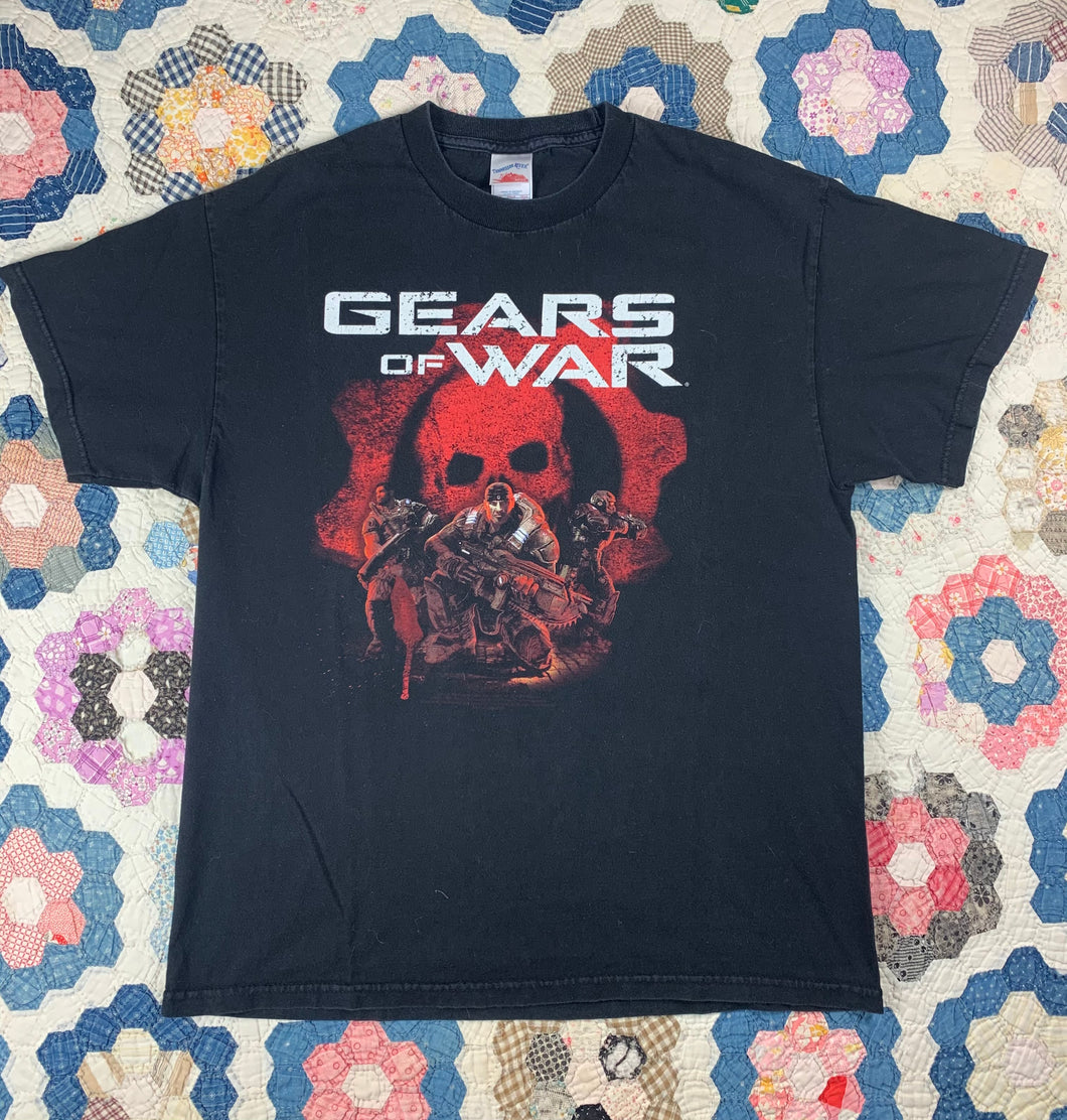 Gears of War Video Game Promo shirt size Large