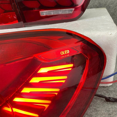 The OLED Technology Application On BMW 3/4 Series Taillights