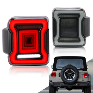 Jeep Wrangler taillamps
